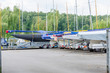 Segelboote an Land - 68642950