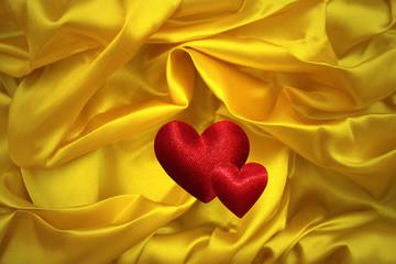 Amour  Volupté  Drap de satin