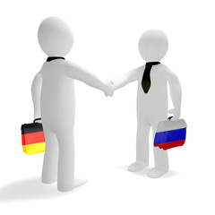 Russia, Germany, friendship