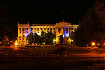Administration of city at night