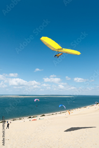 Aluminium Luchtsport Deltaplane dune du Pilat