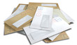 Leinwanddruck Bild - Scattered Envelopes