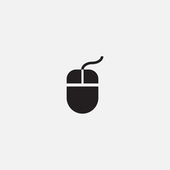 Computer mouse icon.