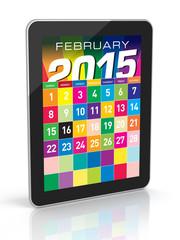 February 2015 - Calendar