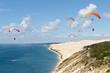 Leinwandbild Motiv Parapente dune du Pilat