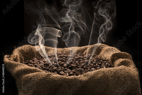 Coffee Beans In a Bag