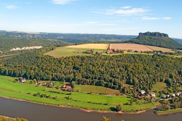 Lilienstein - Elbsandsteingebirge