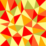 background with irregular tessellations pattern poster
