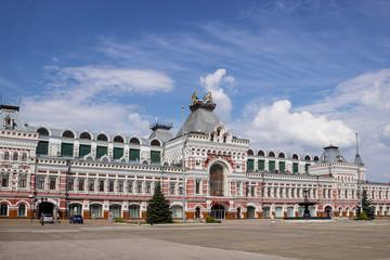 RUSSIA, NIZHNY NOVGOROD, ensemble of the Nizhny Novgorod fair