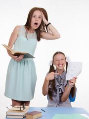 Pupil teacher teases