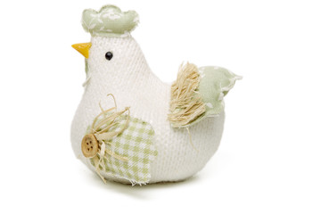 handmade chicken doll
