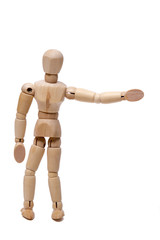 wooden dummy hitchhiking