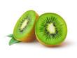 Leinwanddruck Bild - Kiwi fruit isolated on white