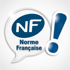 bulle NF norme française