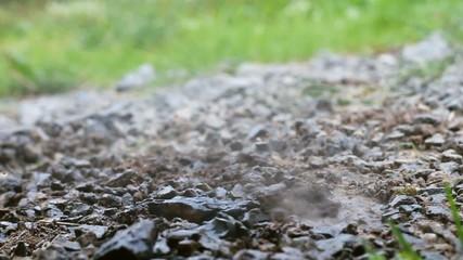 Gravel water