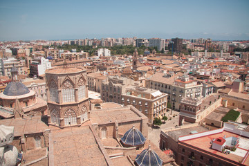 The Roof's View, Valencia Cathedral, Spain