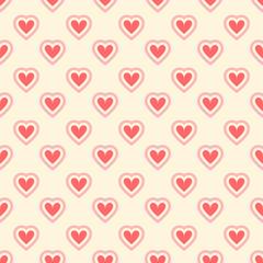 Romantic vector seamless pattern