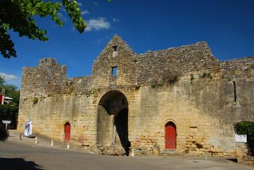 Prison templière de Domme, Dordogne, France