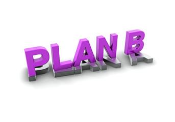 Plan B, violett
