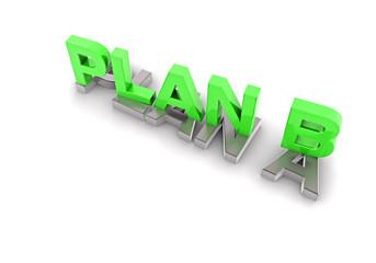 Plan B, grün