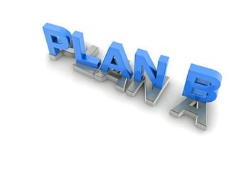 Plan B, blau