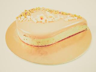 Retro look Pie cake