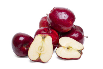 tasty red apples