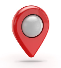 red gps icon (pointer)