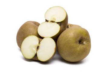 tasty brown apples