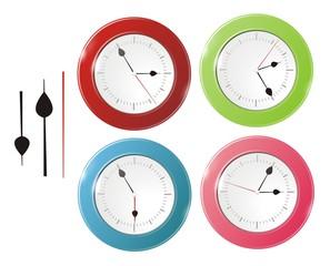 A big wall clock vector