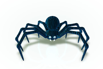 Blue Boy Zeder Spider