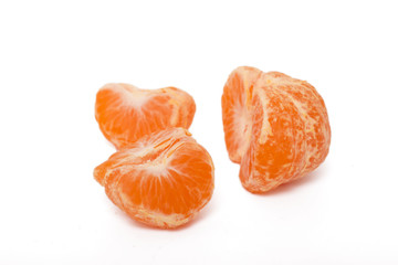 vibrant tangerines fruits