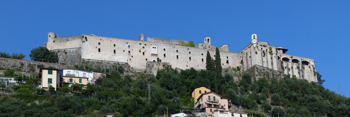 Malaspina Castle in Massa, Italy
