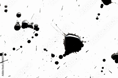 Streszczenie czarne plamy