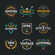 Vector Hipster Emblems - 68661706