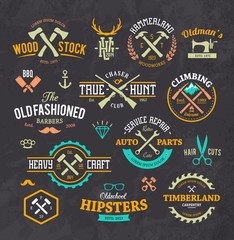 Stylish Retro Emblems