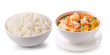 rice in a white bowl delicious food Thailand style - 68662100