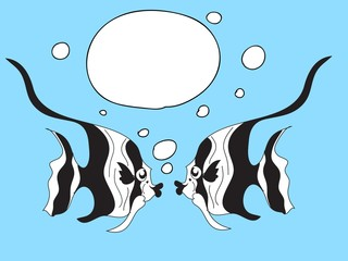 Fish Speech Bubbles