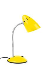 Yellow desk lamp