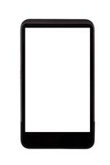 Generic mobile phone with blank screen