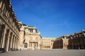 ベルサイユ宮殿、正面玄関