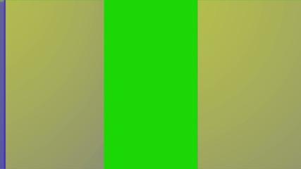 Door open with green screen