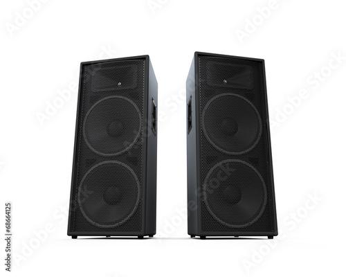 Large Audio Speakers - 68664125
