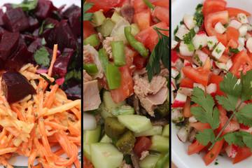 Salades de Crudités
