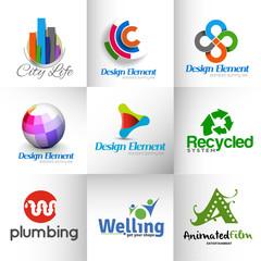 Set of icons Design