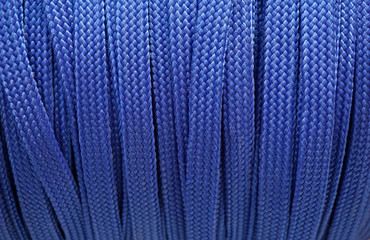 Blue shoesstring background