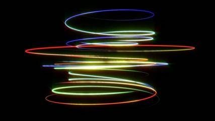 螺旋のライン