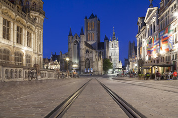 Saint Nicholas Church and Belfry of Ghent