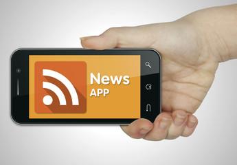 News app. Mobile