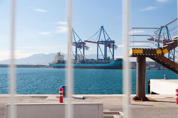 Sea Dock in Malaga